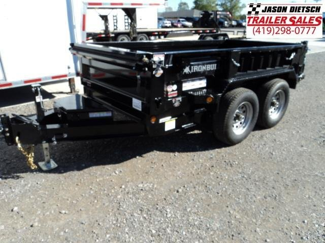 2018 Iron Bull 60x10 Tandem Axle Dump Trailer....Stock#IB-5254