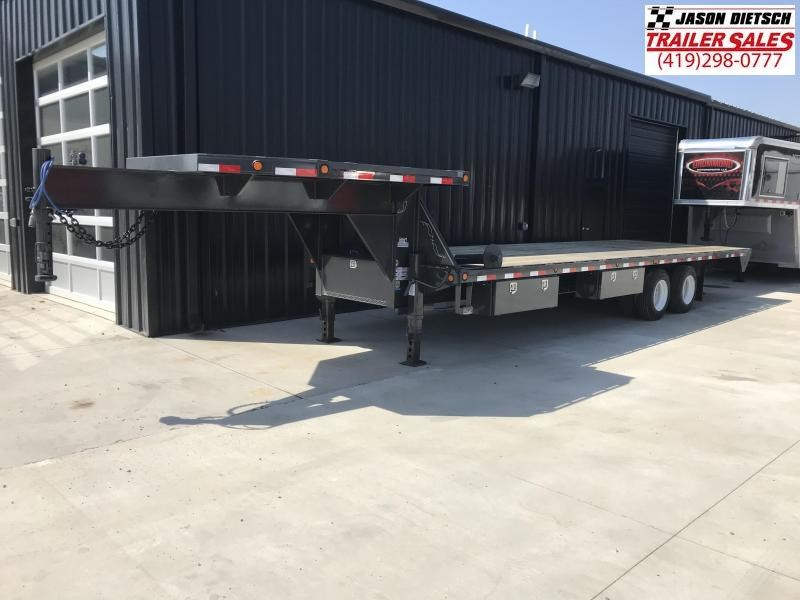 2018 Load Trail 102x28 Gooseneck Equipment Trailer... Stock- 156570