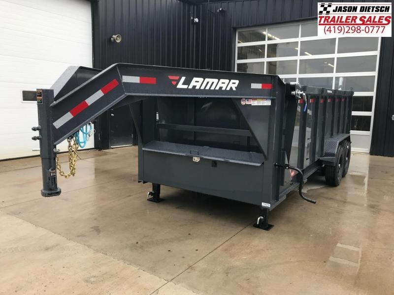 2019 Lamar Trailers 83X16 Dump Trailer....STOCK# LM-079976
