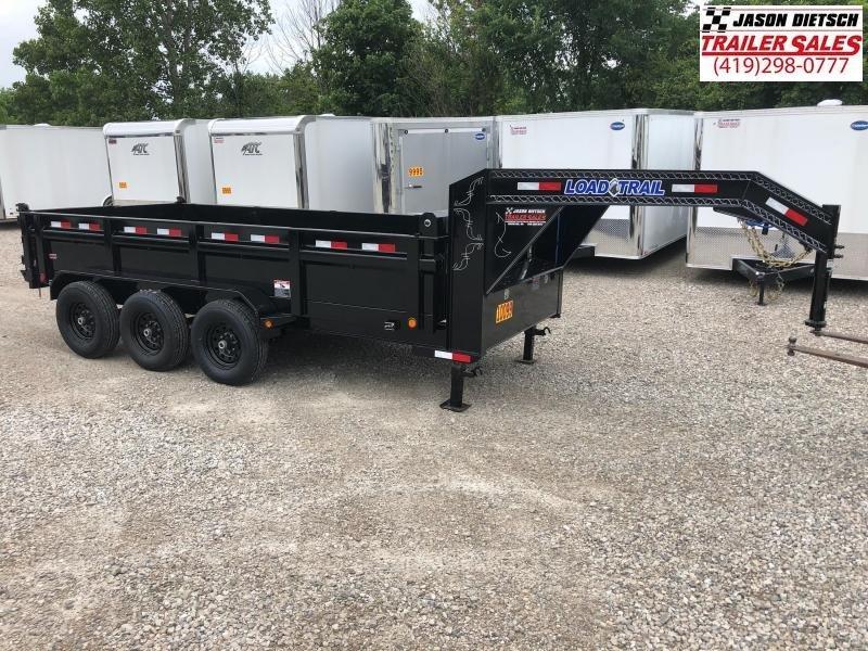 2018 Load Trail 83X16 Triple Axle Gooseneck Dump Dump Trailer....STOCK# LT-168471