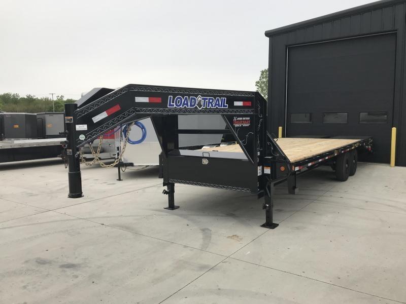 2019 Load Trail 102X25 Tandem Heavy Duty Gooseneck Equipment Trailer....STOCK#LT-7370