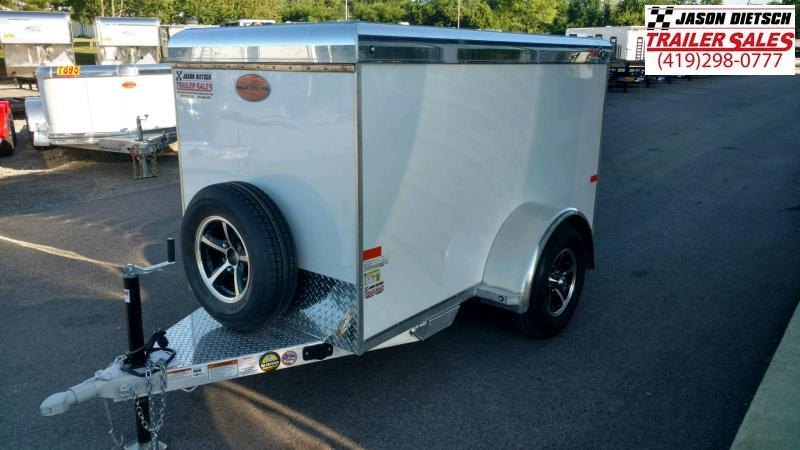 2020 Sundowner MiniGo 4X8 Enclosed Cargo Trailer....Stock#SD-CA3586