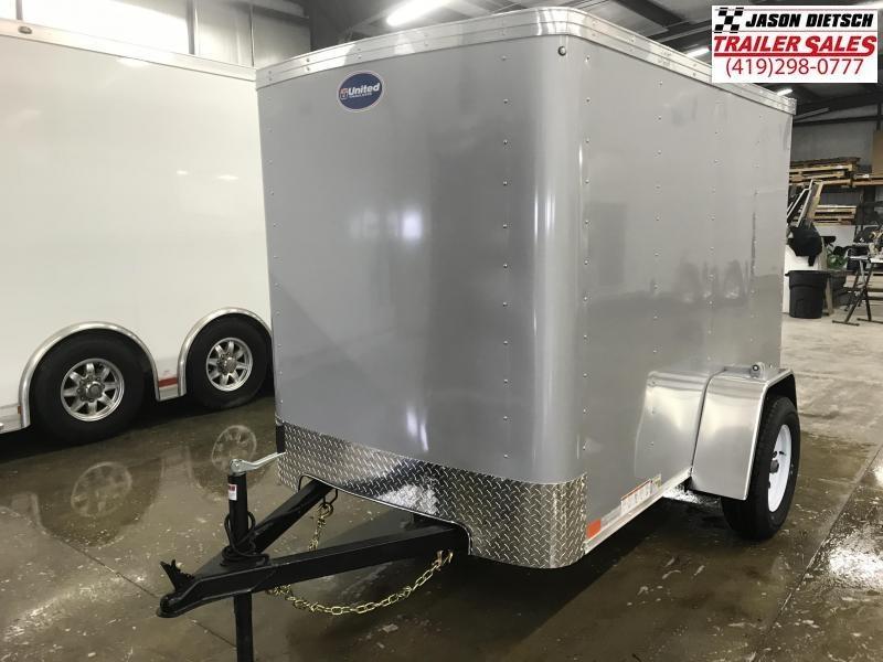 2019 United XLE 5X8 Enclosed Cargo TRAILER....Stock# UN-167943