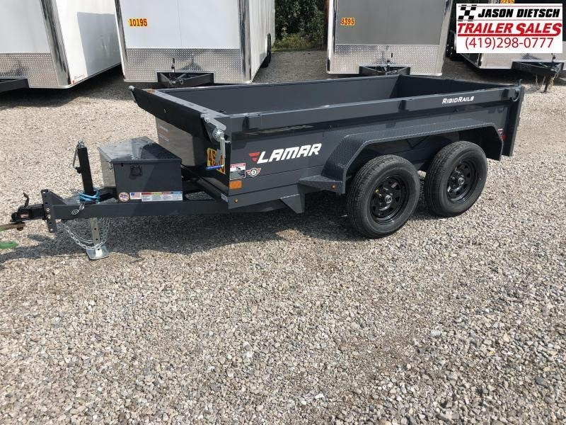 2019 Lamar Trailers 60X10 MINI Dump Trailer....STOCK# LM-069508