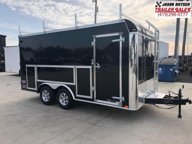 2019 United Trailers UXT 8.5x16 - 5200 lb. Tandem Axle Enclosed Cargo Trailer Stock 162175