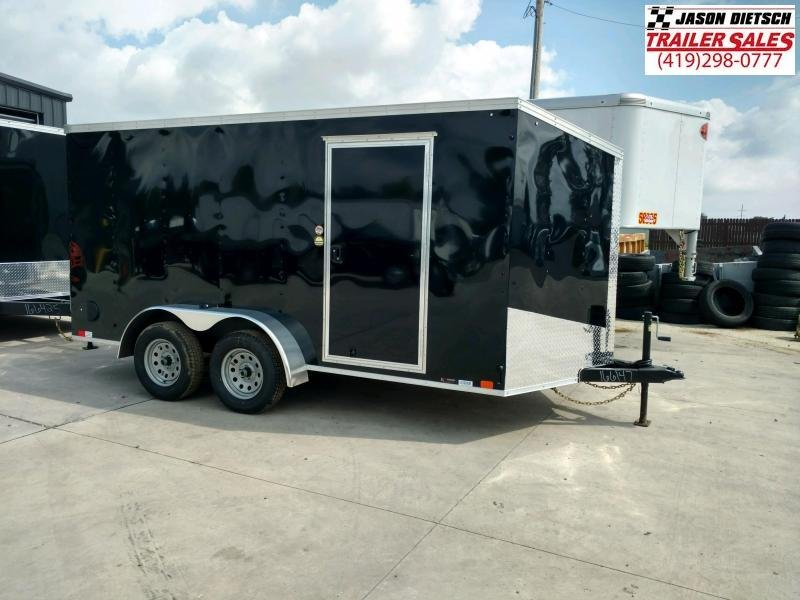 2020 United Trailers XLV 7x14 V-Nose Enclosed Cargo Trailer....Stock# UN-166147