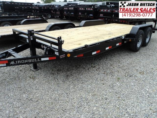 2017 IRON BULL 83x20 Tandem Axle Equipment Hauler Trailer....Stock#IB-3889
