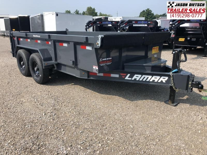2019 Lamar Trailers 83X14 LOW PRO Dump Trailer....STOCK# LM-069520