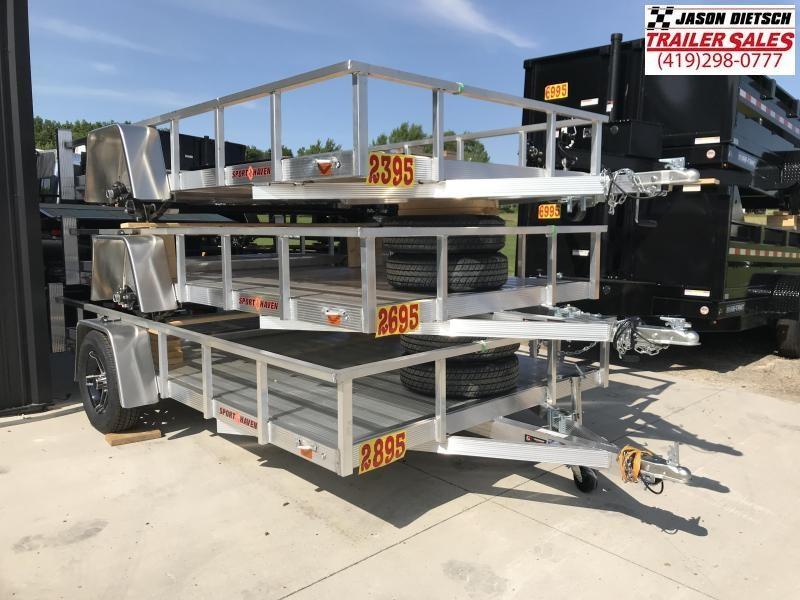 2020 Sport Haven 7X12 Utility Trailer....STOCK# SH-008910
