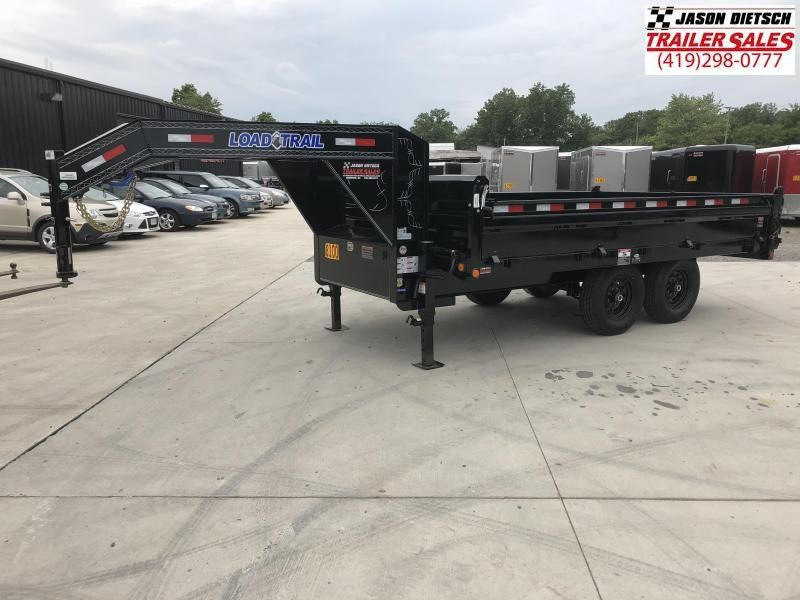 2018 Load Trail 96X14 Tandem Axle GooseneckDeck Over Dump Trailer....STOCK# LT-168485