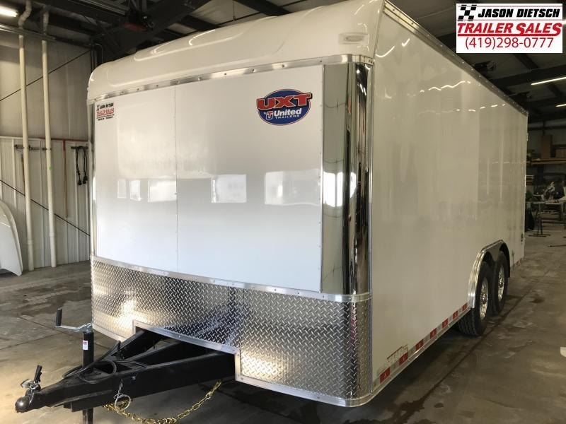 2019 United Trailer UXT 8.5X18 Enclosed Cargo Trailer....Stock# UN-167888