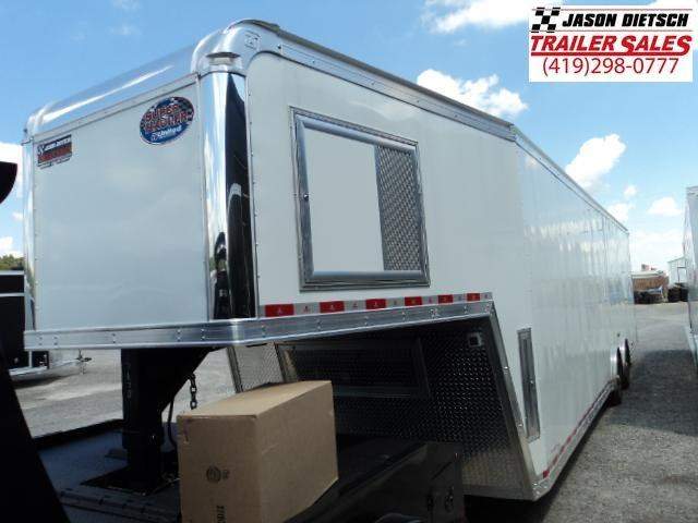 2018 United 8.5x40 Super Hauler Gooseneck Race Trailer Extra Height....Stock# UN-157678