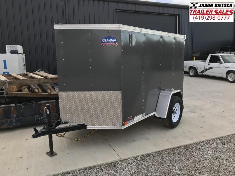 2019 United XLV 5X8 V-Nose  Enclosed Cargo Tr...Stock#UN-165235