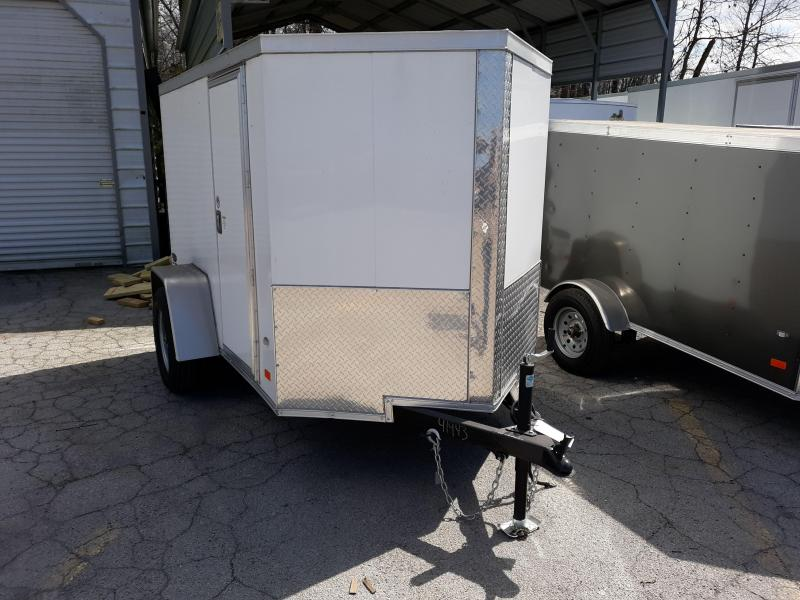 2018 COVERED WAGON 5X8 V RMP/SLESS