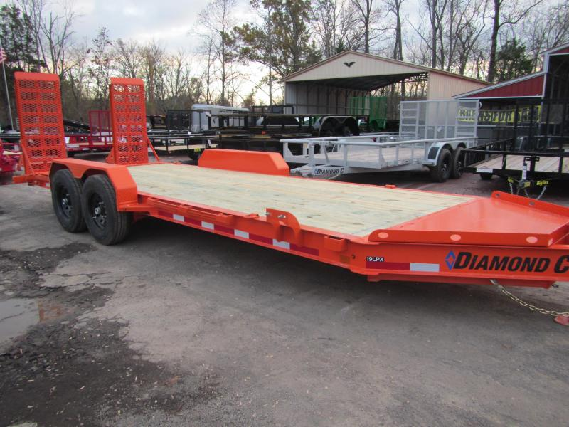 2019 Diamond C Trailers 19LPX-20 Equipment Trailer