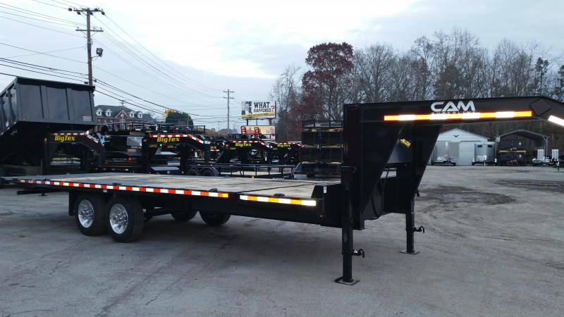 2019 Cam Superline 8CAMDOSTT824 Equipment Trailer
