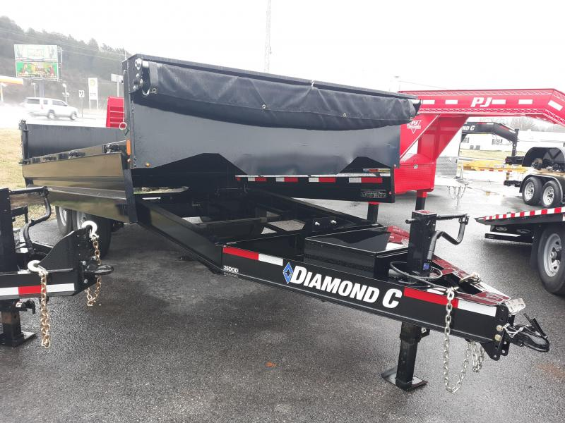 2019 DIAMOND C 25DOD 7 TON 96X14