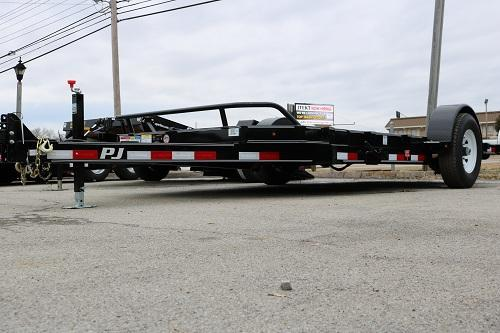 PJ 16' Single Axle Tilt Trailer