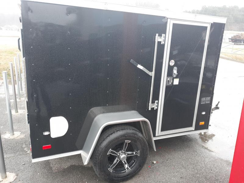 2019 COVERED WAGON 5X8 V RMP/WHEEL
