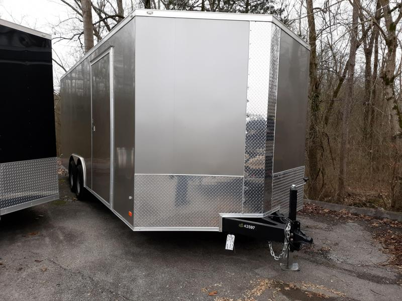 2018 COVERED WAGON 8.5X20 7K TORSION Axles