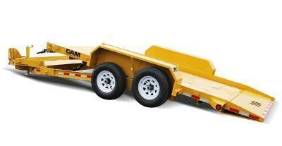 CAM 7x19 Split Tilt Bed Trailer 16K