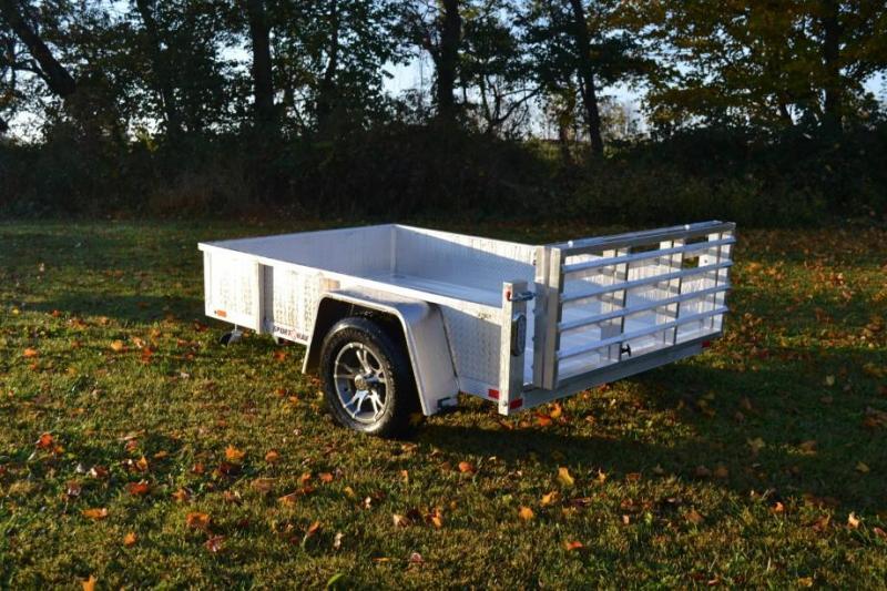Sport Haven 5x8 Utility Trailer w/ Aluminum Deck & Sides
