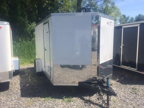 Cross 6x12x6.5 Enclosed Cargo Trailer w/ Ramp Door