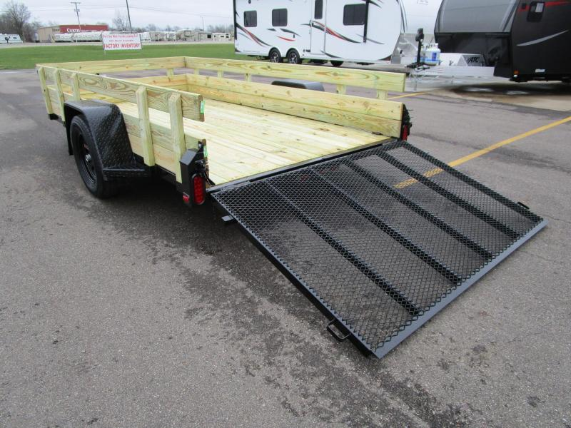 2019 Nation Tank and Trailer 6x12 Utility Trailer