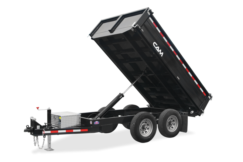 6x10 CAM 8K Deck Over Dump Trailers