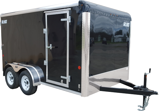 Car Mate 7x14 Custom Cargo Trailer w/ Ramp Door