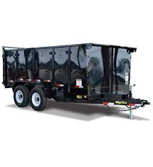 2018 Big Tex Trailers 14LX-14BK-P4 Dump Trailer WITH 4' High Sides