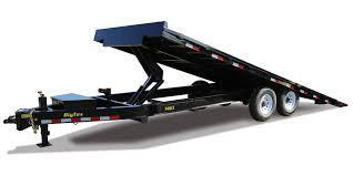 2019 Big Tex Trailers 14OT-22 SCISSOR LIFT Tilt Equipment Trailer