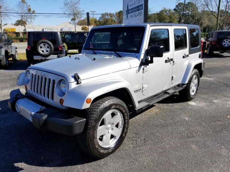 2010 Jeep WRANGLER UNLIMIITED SAHARAH SUV