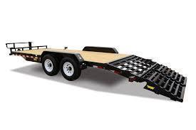 2018 Big Tex 14ET - 22' Equipment Trailer with Mega Ramps