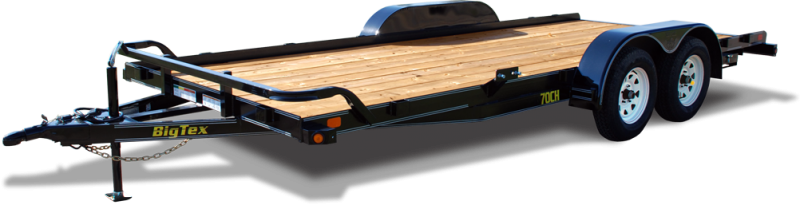 2019 Big Tex Trailers 70CH-18DT Car / Racing Trailer
