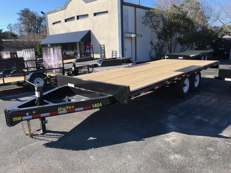 2018 Big Tex Trailers 20' Deck Over Equipment Trailer