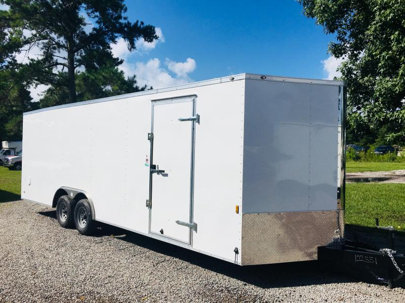 2018 Continental Cargo 8.5X24 CAR HAULER Car / Racing Trailer