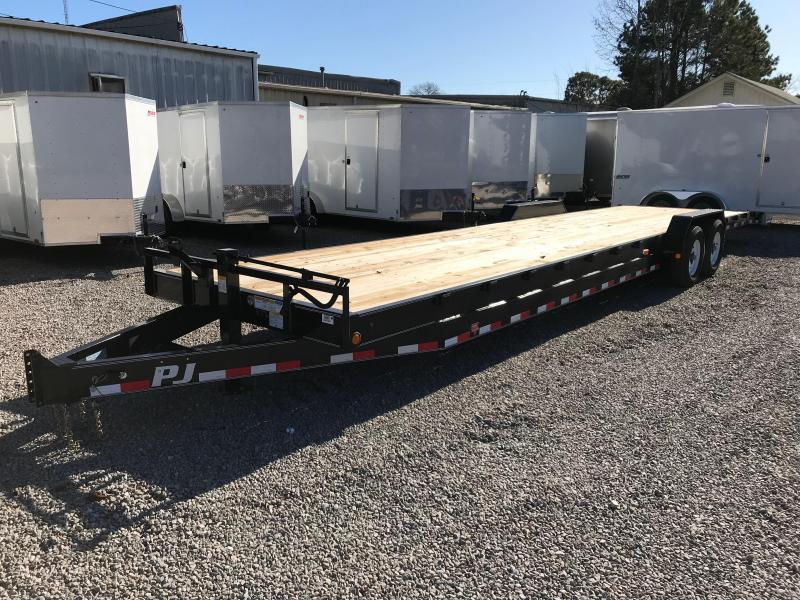 "2018 PJ Trailers 36' Two Car Hauler with 8"" Channel"