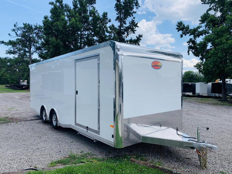 2020 Sundowner Trailers RCL 24 WHITE Car / Racing Trailer