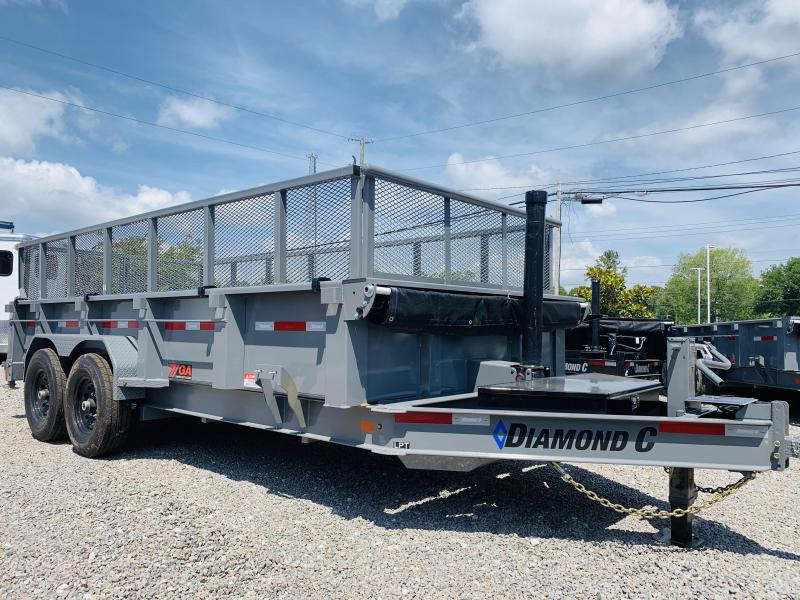 2019 Diamond C Trailers LPT207 Dump Trailer