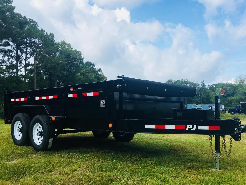 2019 PJ Trailers Low Pro 16' Dump Trailer