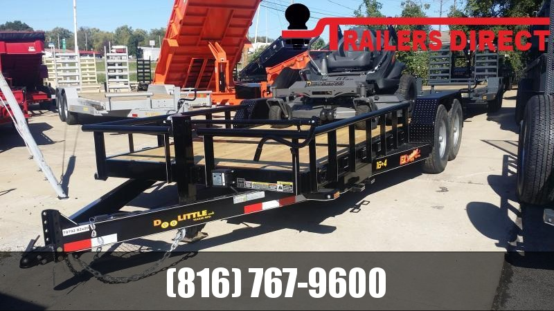 2019 Doolittle Trailer Mfg 82 x 20 GT Equipment Trailer