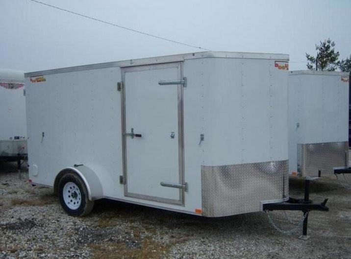 2017 Doolittle Trailer Mfg 6X12 Bullitt 3K Enclosed Cargo Trailer