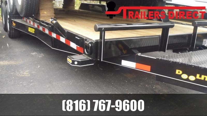 2019 Doolittle Trailer Mfg 82 x 22 XT Equipment Trailer