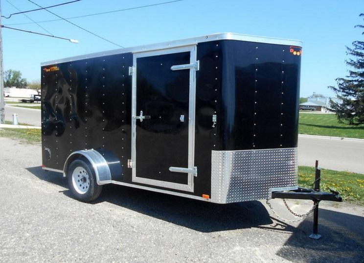2017 Doolittle Trailer Mfg 7X14 Enclosed Cargo Trailer