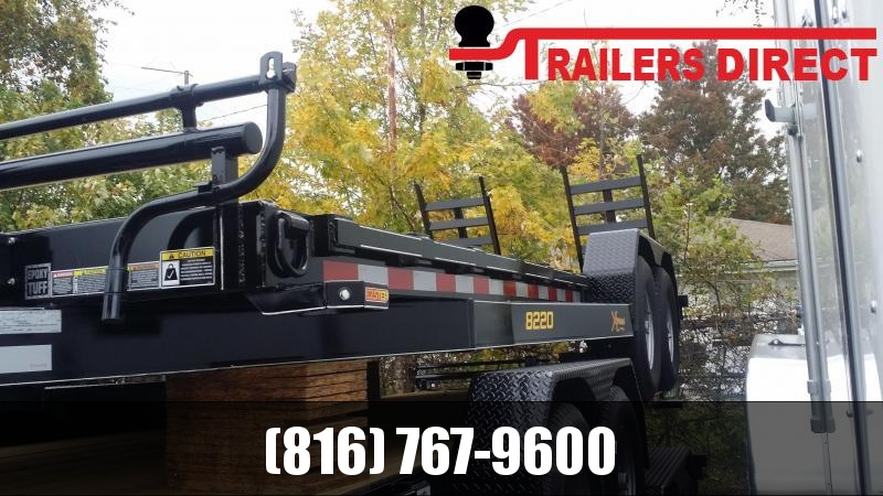 2019 Doolittle Trailer Mfg 82 X 20 XT Equipment Trailer