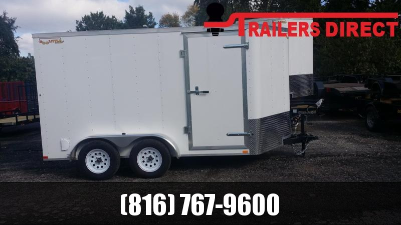 2019 Doolittle Trailer Mfg 7 X 12 Enclosed Cargo Trailer