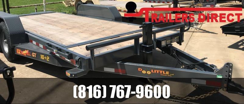 2019 Doolittle Trailer Mfg 82 X 18 GT Equipment Trailer