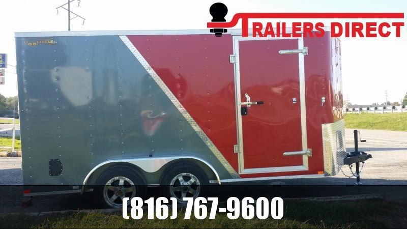 2019 Doolittle Trailer Mfg 7 x 14 Enclosed Cargo Trailer