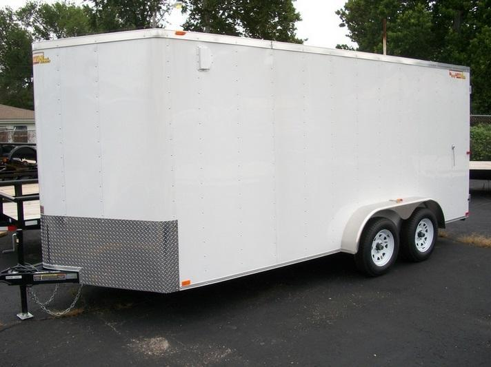 2016 Doolittle Trailer Mfg 7X16 Bullitt 7K Enclosed Cargo Trailer